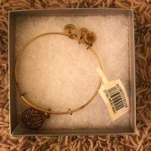 ALEX AND ANI lotus bracelet
